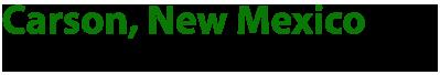 Carson, New Mexico Logo